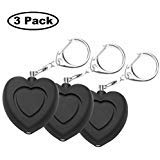 Personal Alarm – Toeeson Safe Sound Personal Alarm Keychain for Women Kids, 130 DB Loud Siren Song Alarm Keychain with 3 LR44 Batteries Included