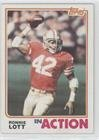 - Ronnie Lott (Football Card) 1982 Topps - [Base] #487