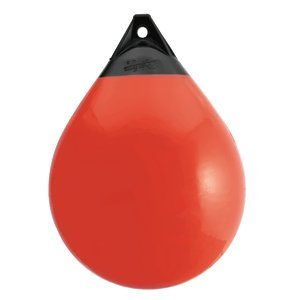 A SERIES 21-1/2 inch BUOY, RED