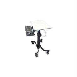 Ergotron 24-220-055 TeachWell Mobile Digital Workspace - Cart for notebook / keyboard / mouse - steel - graphite gray - Mobile Workspace Cart
