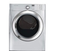 Frigidaire FFSG5115PA 7.0 Cu. Ft. Superior Silver Stackable With Steam Cycle Gas Dryer