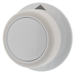 3957752 Dryer Timer Knob, White Replacement For Inglis, Admiral, Sears.