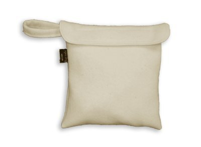 - Organic Wool Wet Bag - Small (holds 1-2 diapers)