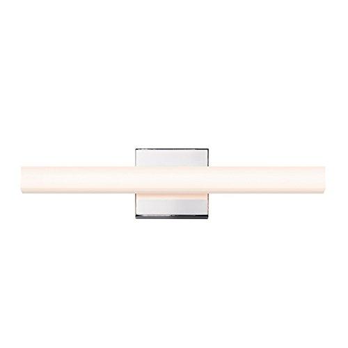 Chrome New York Glass - Sonneman Lighting 2420.01 SQ-bar - 18