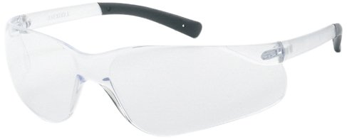 Liberty ProVizGard F-II Protective Eyewear with Black Temple Tips, Clear Anti-Fog Lens (Case of 12 Pairs) ()