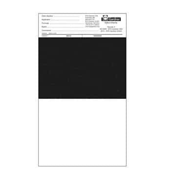 Clearcoated BYK-Gardner 2856 Byko-Chart Brushout 5DX Drawdown Card Box of 500