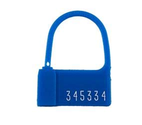 TydenBrooks PP-2 Padlock Seal, Numbered, Red, 1000 Count