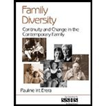 Understanding Family Diversity, Volume 44 - Continuity & Change in the Contemporary Family (02) by Erera, Pauline Irit [Paperback (2001)]