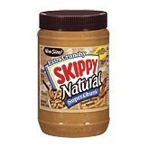 Skippy Super Chunk Natural Peanut Butter Spread, 40 oz by Skippy