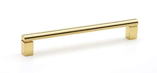 (Alno A430-6-PB Vogue 6 Inch Center to Center Handle Cabinet Pull)