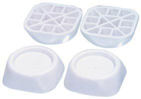 DREHFLEX® - Gummi-Schwingungsdämpfer / Vibrationsdämpfer für Füße für Waschmaschinen und Trockner