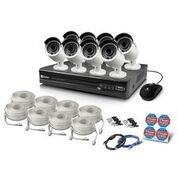 Swann SWNVK-874008-US Super HD 4MP NVR Security System, 8 Channel 2TB NVR with 8 x 4MP, Black and White