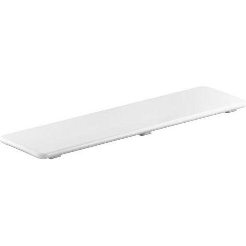 KOHLER K-9157-0 Bellwether Plastic Drain Cover for 60-Inch x 34-Inch Shower Base, White
