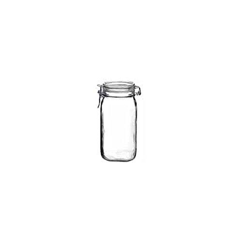 Bormioli Rocco 4949Q454 Fido 54.75 Oz. Clear Jar - 12 / CS by Steelite