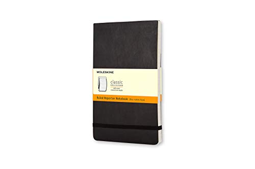 (Moleskine Classic Soft Cover Reporter Notebook, Ruled, Pocket Size (3.5
