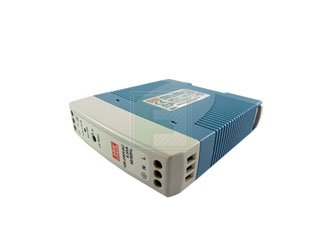 MEAN WELL MDR-20-12 MDR-20 Series 20 W Single Output 12 V AC/DC Industrial DIN Rail Power Supply - 1 item(s)