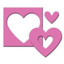 Paper Shapers Medium Double-Punch-Heart