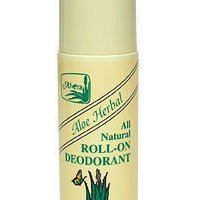 Alvera Aloe Based Roll-On Deodorant, Herbal, 3 OZ (Pack of (Alvera Aloe Deodorant)