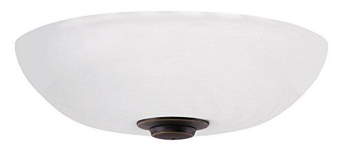 (Emerson Ceiling Fans LK150OMLEDGES Harlow Opal Matte LED Light Fixture for Ceiling Fans, LED Array, Golden Espresso)