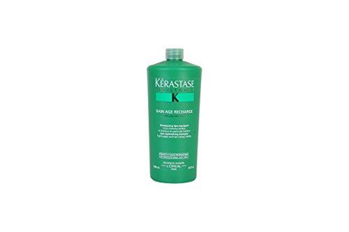 - Kerastase Resistance Bain Age Recharge Shampoo, 34 Ounce
