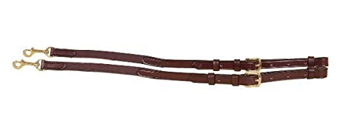 Tory Leather - Bridle Leather and Elastic Side Rein TY591 ()