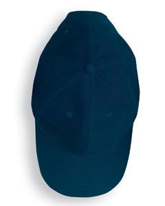 Anvil Solid Brushed Twill Cap OS Navy
