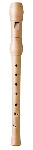 FLAUTA DULCE SOPRANO - Hohner (9560) (Madera Peral Natural) (Barroca) (2 Piezas) by Hohner Accordions