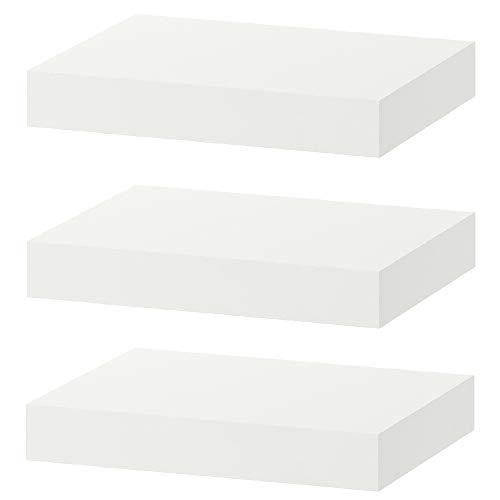IKEA Floating Wall Lack Shelf White - Home Decor Stack of 3 Shelves