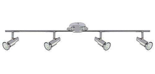 Trango® 4-flammig LED Deckenleuchte inkl, LED Deckenleuchte