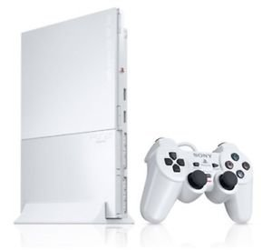 Playstation 2 Console Slim - Ceramic White
