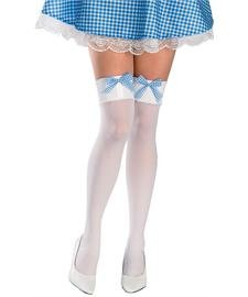 [Dorothy Thigh High Stockings Costume Accessory] (Gingham Womens Costumes)