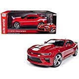 Camaro Yenko (DIECAST Toys CAR AUTO WORLD 1:18 Muscle Cars U.S.A. - 2017 YENKO Chevrolet Camaro RED AW246)