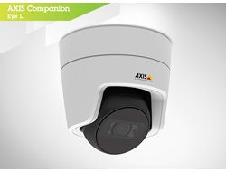 Axis Communications 0881-001 Eye L - Network Surveillance Camera - Dust Resistant/Water Resistant - Color (Day & Night) - 2.8Mm Lens - 1920 X 1080, White