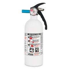 (Kidde 466179MTL 2 Lb 5-B:C White Disposable Marine 5 Fire Extinguisher)