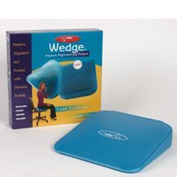 FitBALL Ball Dynamics Seating Wedge Balance Cushion Blue