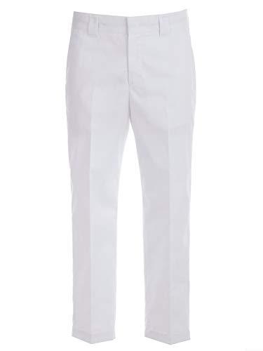Blanc Homme Pantalon Polyester Msgm 2640mp1219520001 q8XwpEz