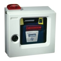 - Cardiac Science Powerheart G3 AED Wall Case W/ Alarm
