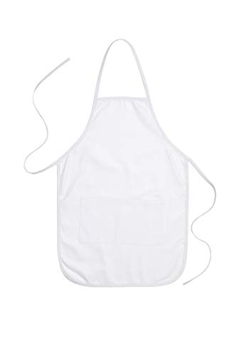 Canvas Apron with Pocket