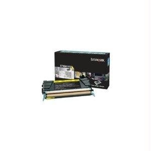 Lexmark X746 X748 Yellow Return Program Toner Cartridge - By