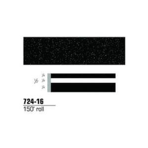 3M Scotchcal Striping Tape 72416 1//2 in x 150 ft Black Stardust