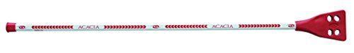 ACACIA Deluxe Broomball Sticks, White/Black/Red
