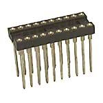 Socket IC 20 Pin Machine Tooled Wire Wrap 0.3