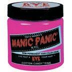 Manic Panic Semi- Permanent Hair Dye Cotton Candy Pink 4oz