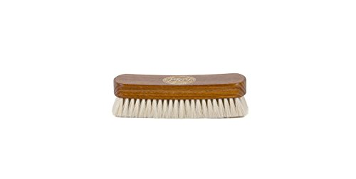 Collonil Goat Hair Leather Shine Brush 6'' For High Gloss Shine On Leather Shoes Handbags Clothes by Collonil (Image #1)