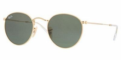 Ray-ban 3447 Arista Crystal Green - Metal 50 Rb3447 Round