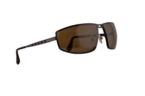Chopard SCHB02M Sunglasses Matte Palladium w/Polarized Brown Lens 68mm SLSP SCH B02M SCHB 02M ()