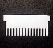 Gel Company 15 Lane Comb, 1.5 mm Thick , CBS15-150