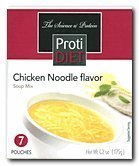 Protidiet Chicken Noodle Flavor High Protein Soup Mix (7 Servings)