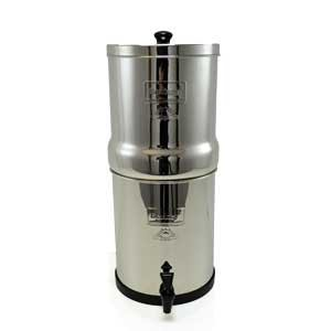 Big Berkey Water Filter with 2 x 9'' Ceramic Filters by Berkey