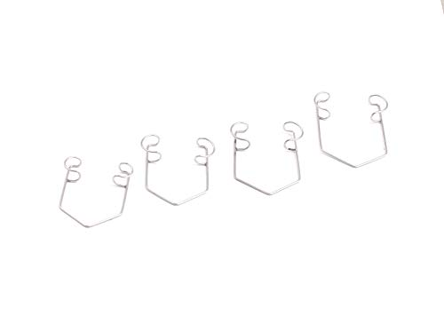 (OdontoMed2011 Barraquer Wire Eye Speculum Stainless Steel (Set of 4) )
